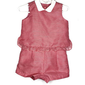 Janie and Jack peter pan collar one piece romper